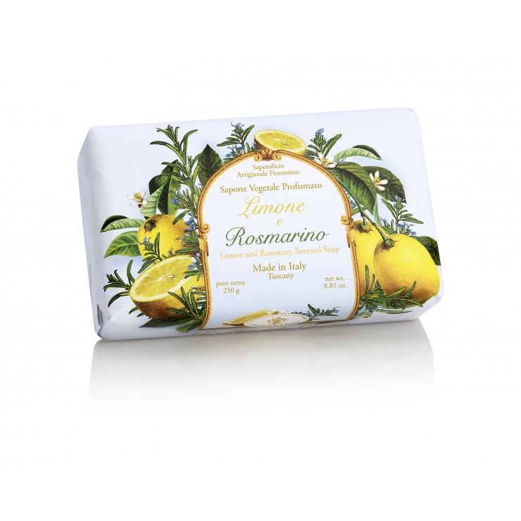 SA Fiorentino Prírodné tuhé mydlo Citrón a rozmarín 250 g
