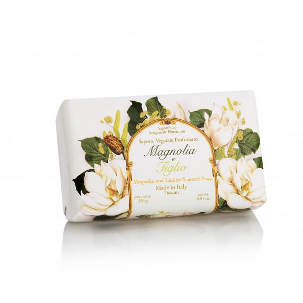 Prírodné mydlo Magnólia a lipa