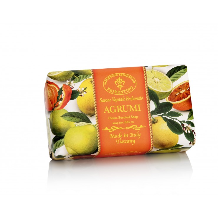 SA Fiorentino Prírodné ratlinné tuhé mydlo Citrusy 250 g