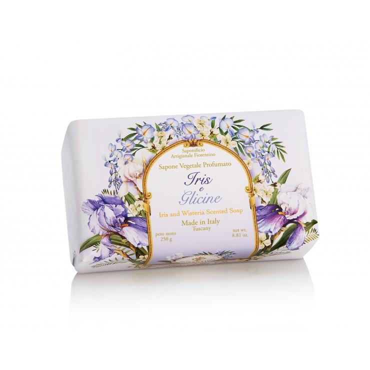 Vegetable soap Iris and Witeria