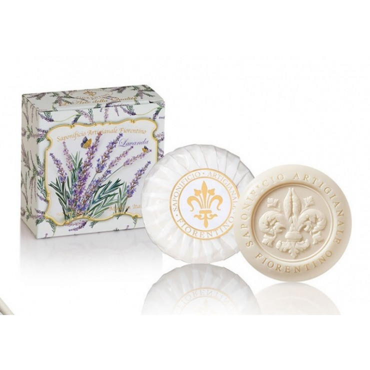 SA Fiorentino Prírodné tuhé mydlo Levanduľa 100 g