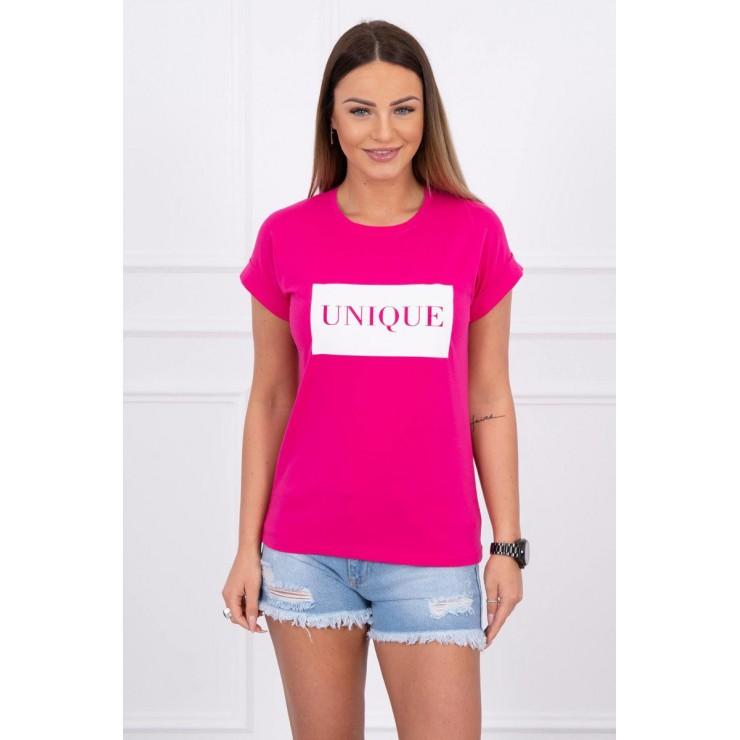 Women T-shirt UNIQUE fuxia