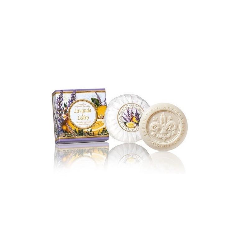 Prírodné mydlo Levanduľa a céder