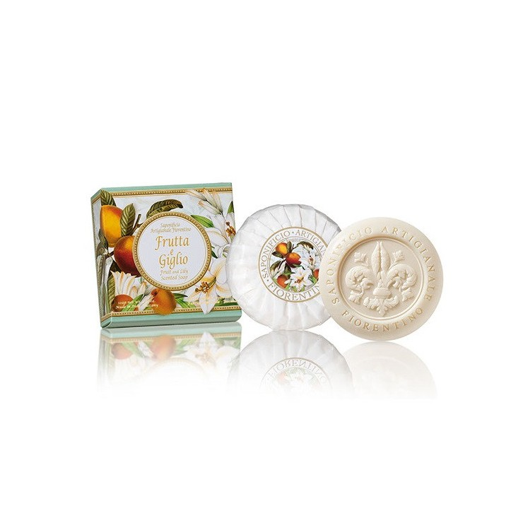 Vegetable soap Fruits and lilies