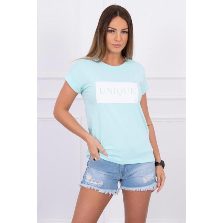 Women T-shirt UNIQUE mint