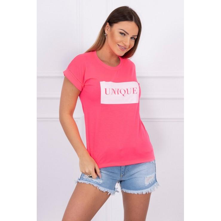 Women T-shirt UNIQUE pink