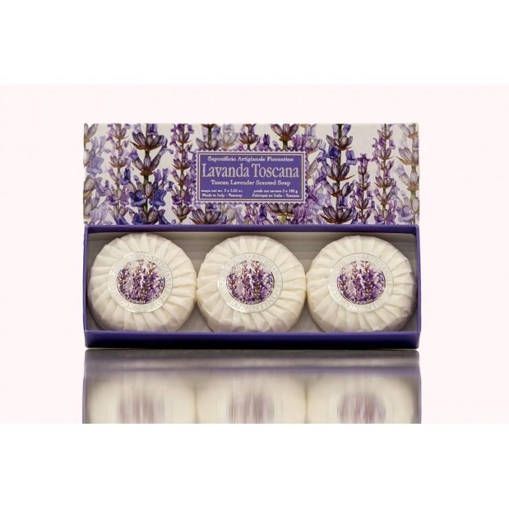 Vegetable soap Tuscany lavender