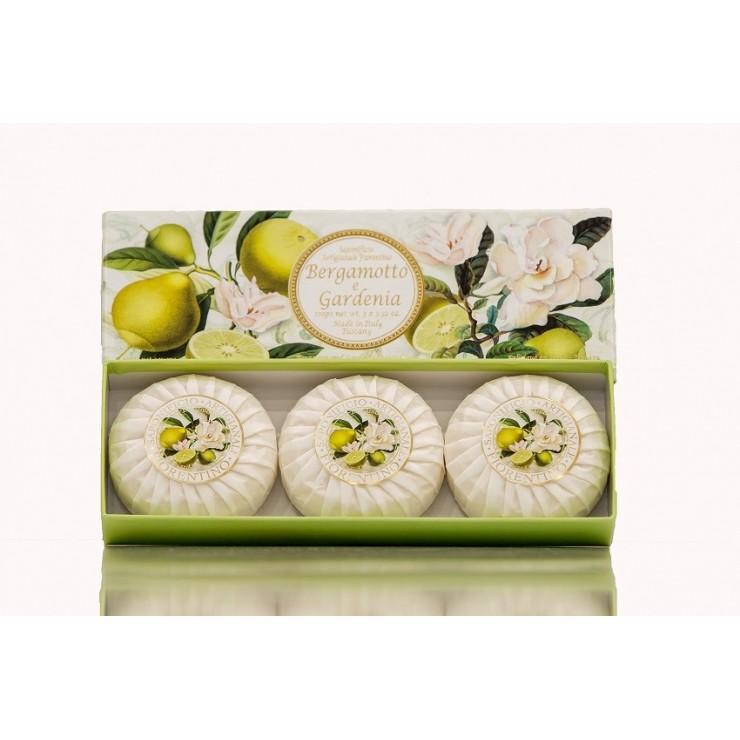 Vegetable soap Bergamot and gardenia