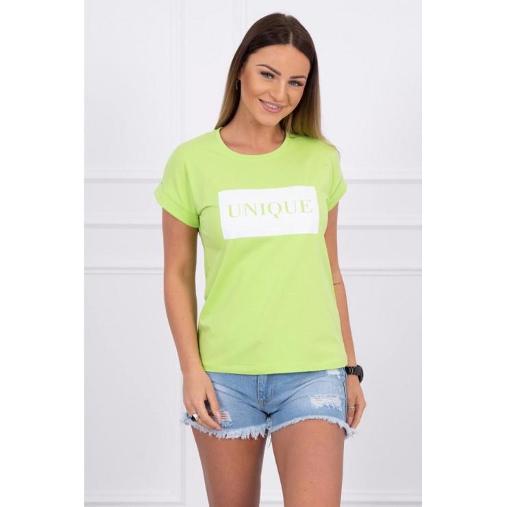 Women T-shirt UNIQUE green