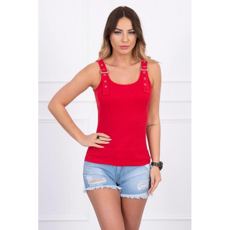 Women T-shirt MI5430 red