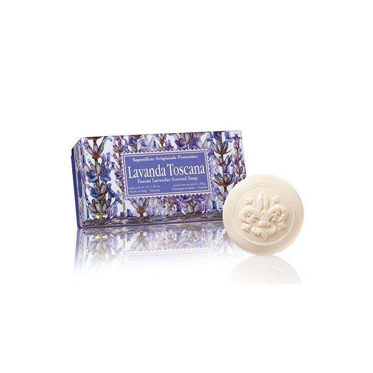 Prírodné mydlo Levanduľa 6 x 50 g