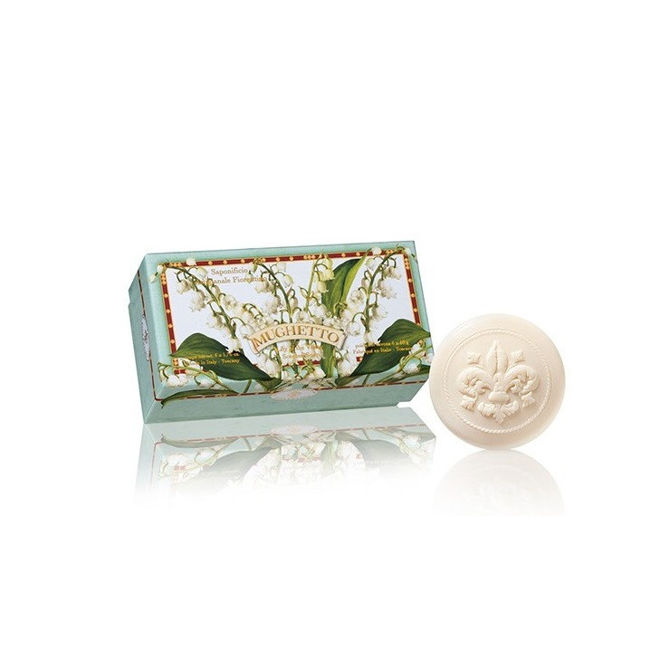 Vegetable soap Lily of the valley  6 x 50 g