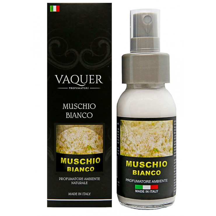 Bytový naturální sprej MUSCHIO BIANCO (bílé pižmo)60 ml