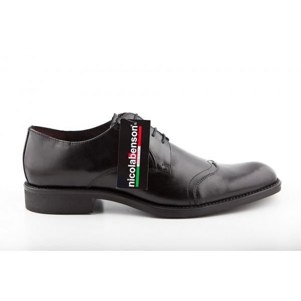 949f069d78fa6 Pánská kožená obuv 283 Nicola Benson - MONDO ITALIA s.r.o.