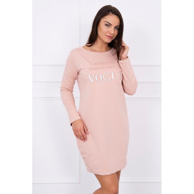 Dress Vogue MI8922 powder pink