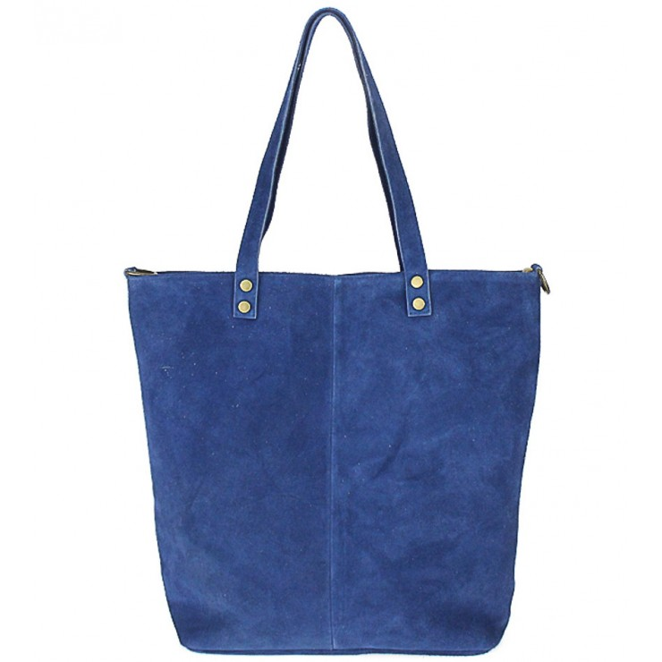 Genuine Leather Maxi Bag 768 jeans