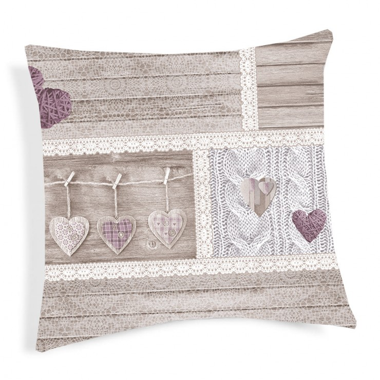 Pillowcase viola violet 40x40 cm