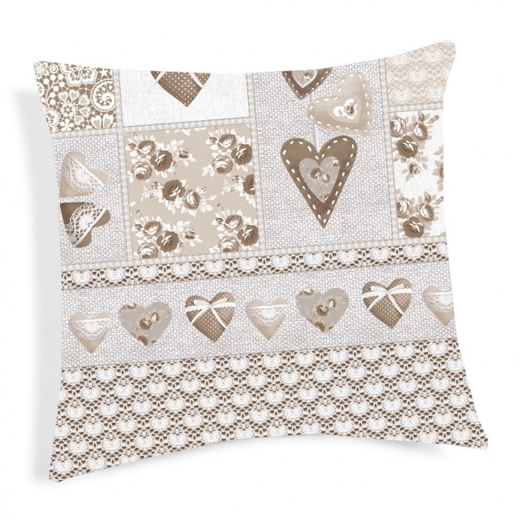 Pillowcase Patchwork Primavera beige 40x40 cm