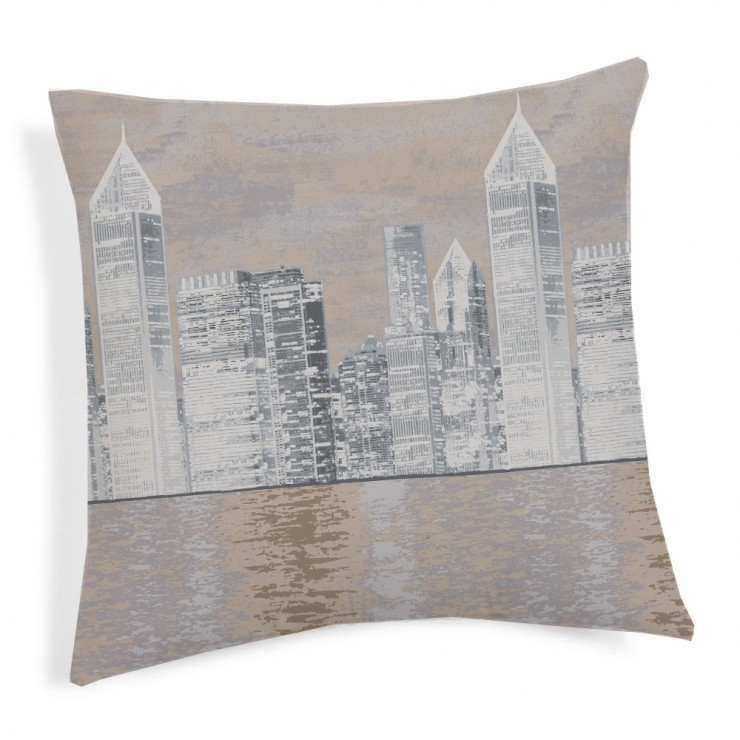 Pillowcase New York beige 40x40 cm