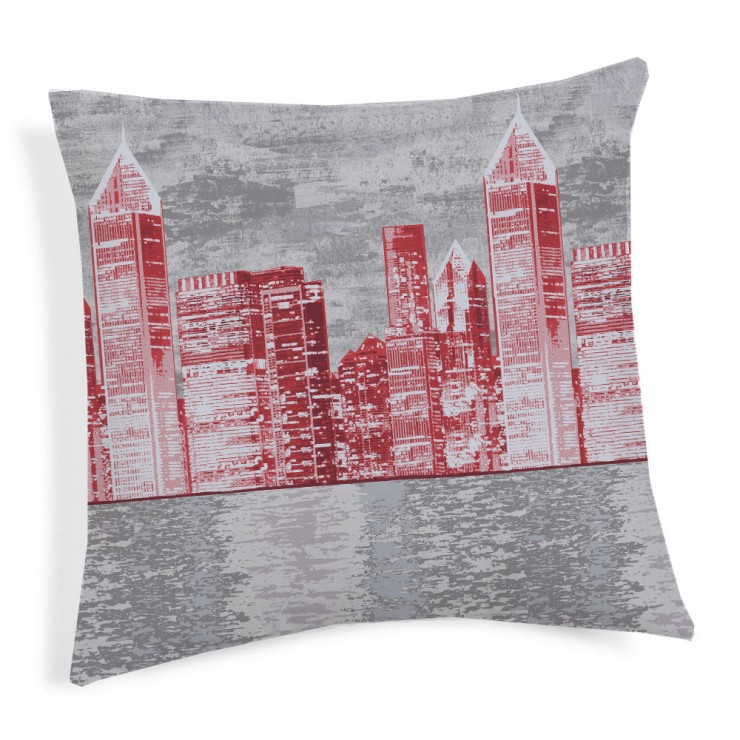 Pillowcase New York red 40x40 cm