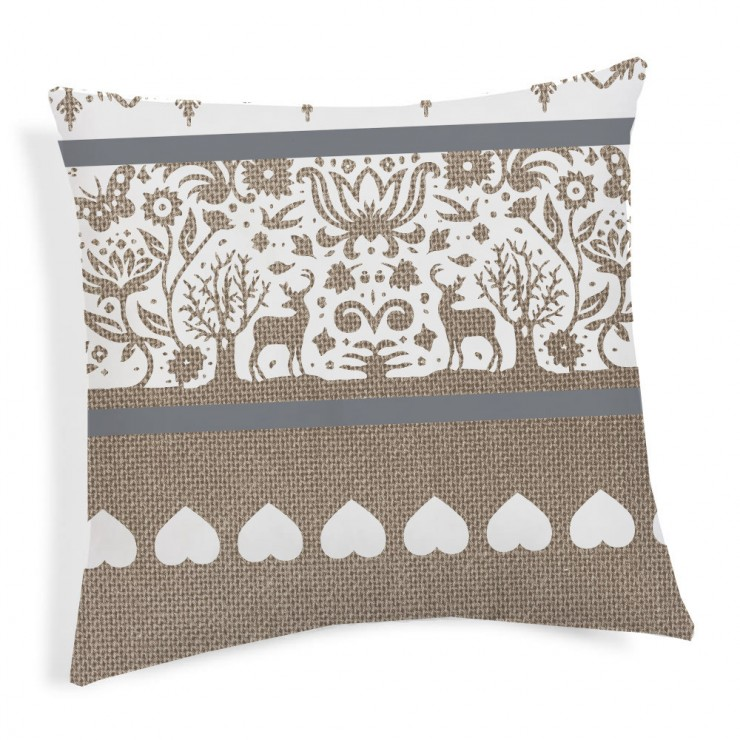 Pillowcase TIROL beige 40x40 cm