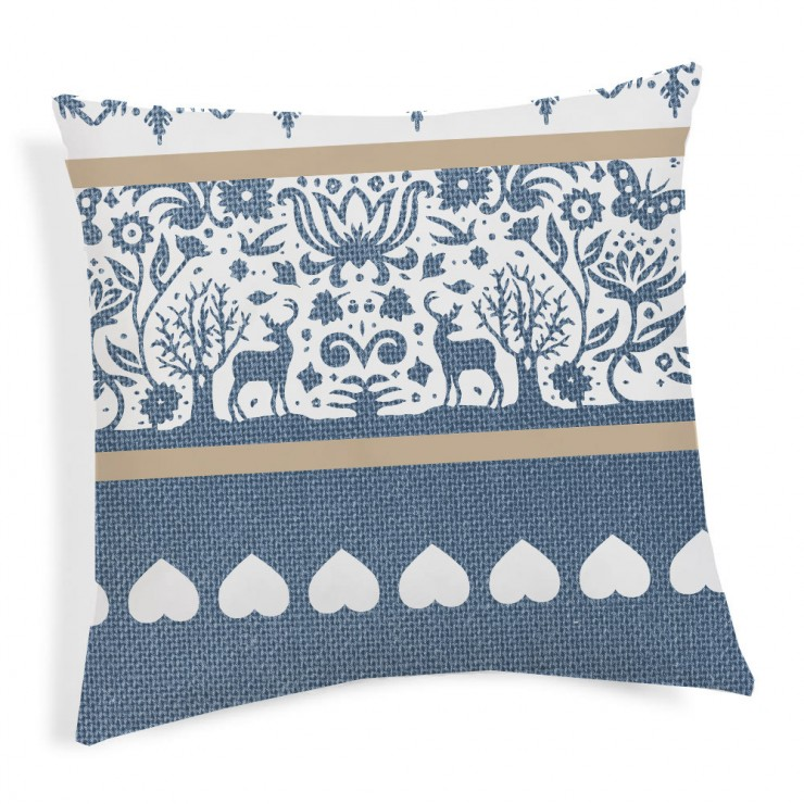 Pillowcase TIROL blue 40x40 cm