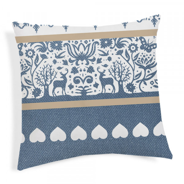 Pillowcase TIROL blue 40x40 cm