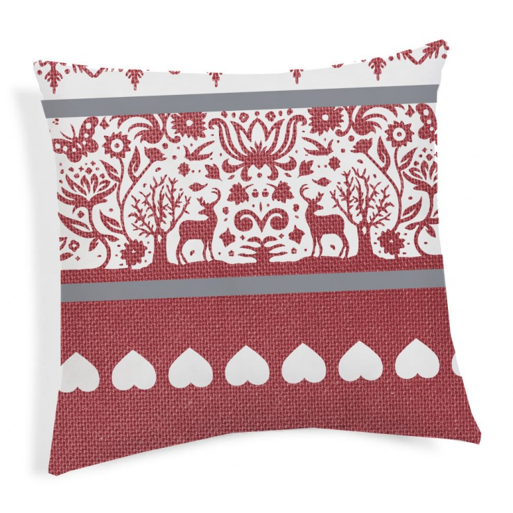 Pillowcase TIROL red 40x40 cm