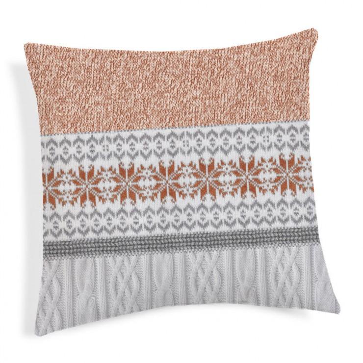 Pillowcase  Jersey orange 40x40 cm