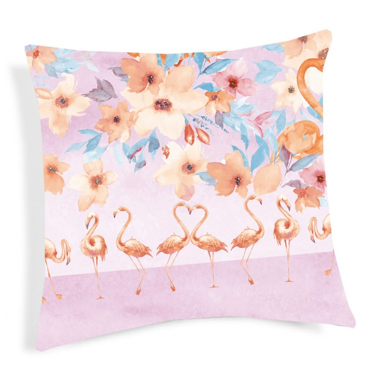 Pillowcase Flamingo orange 40x40 cm