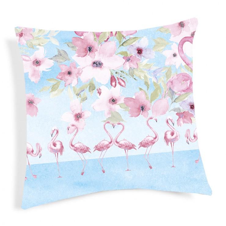Pillowcase Flamingo pink 40x40 cm