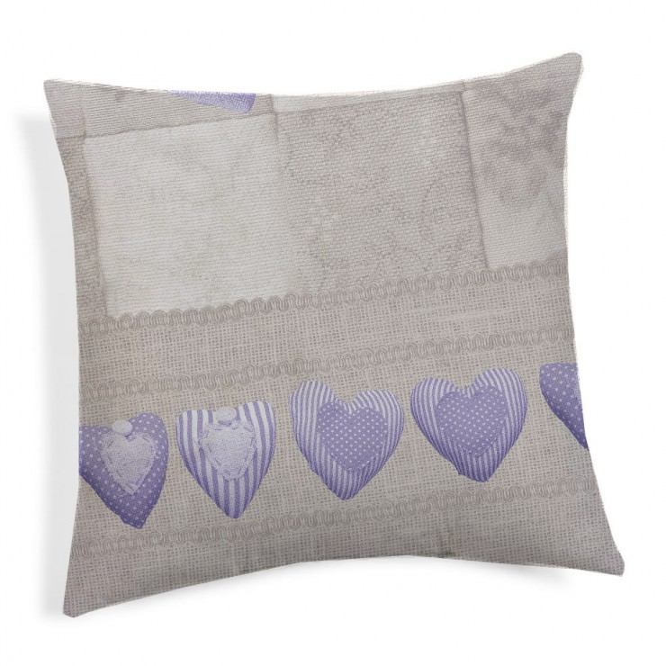 Pillowcase Patchwork violet 40x40 cm