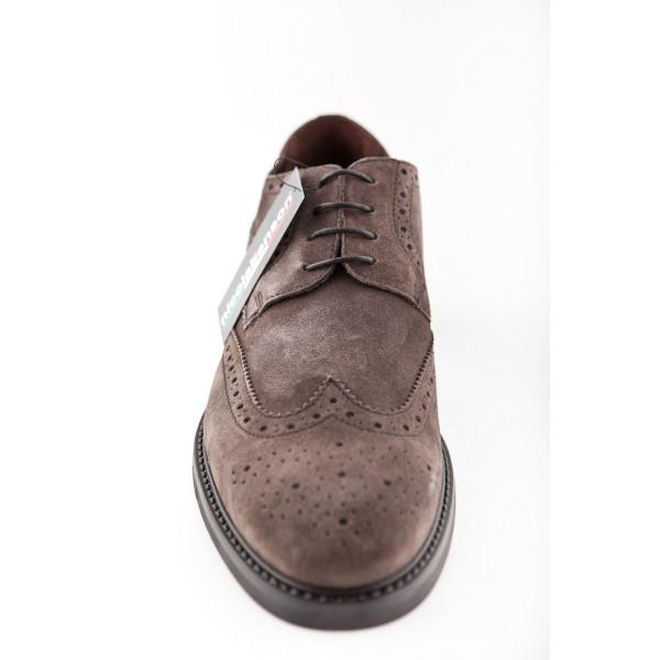 eb6a340374c5f Pánská kožená obuv 296 Nicola Benson - MONDO ITALIA s.r.o.