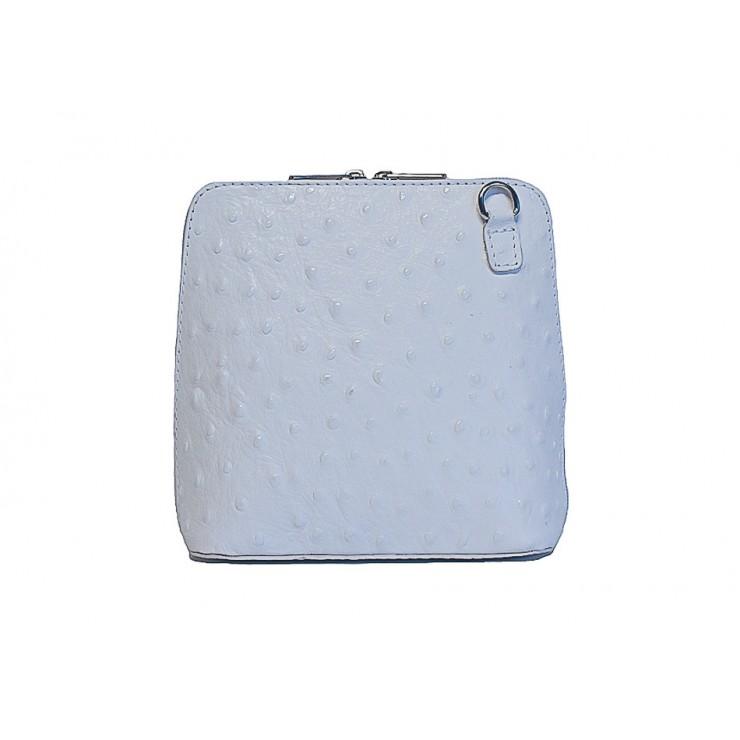Kožená kabelka na rameno 603 biela