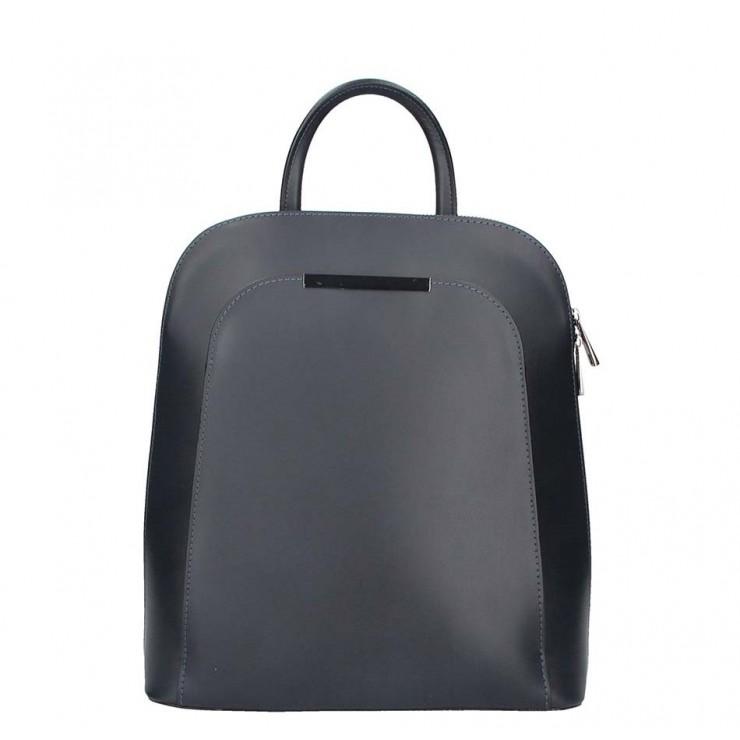Čierny kožený batoh 1488