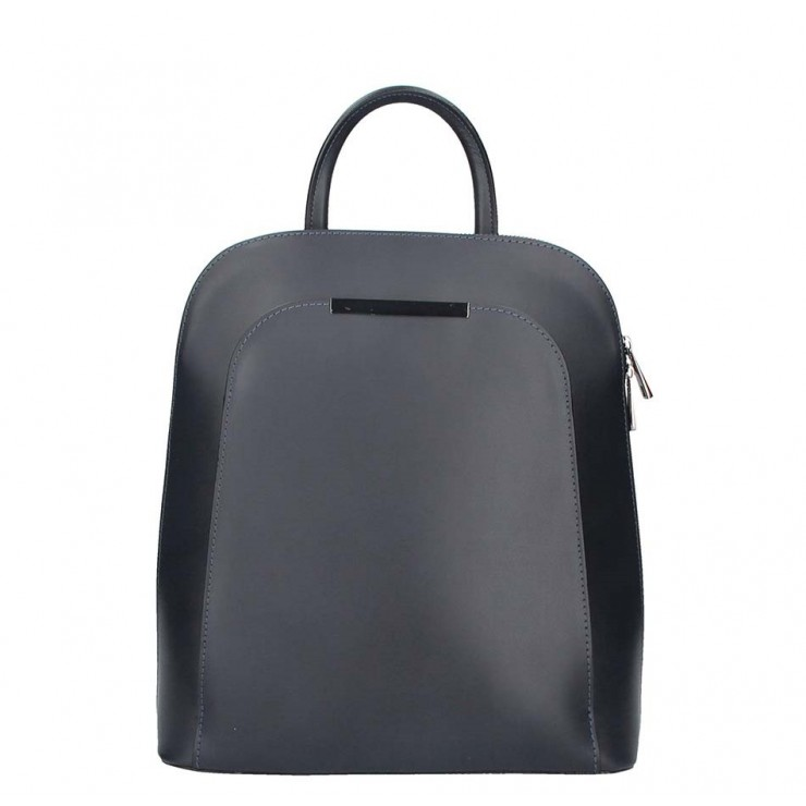 Leather backpack 1488 black