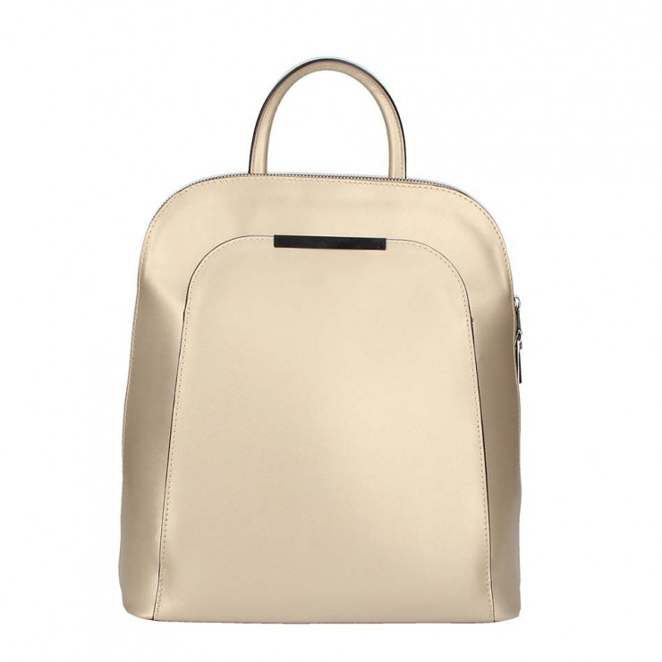 Leather backpack 1488 gold