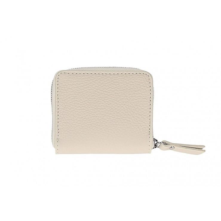 Woman genuine leather wallet 571 beige