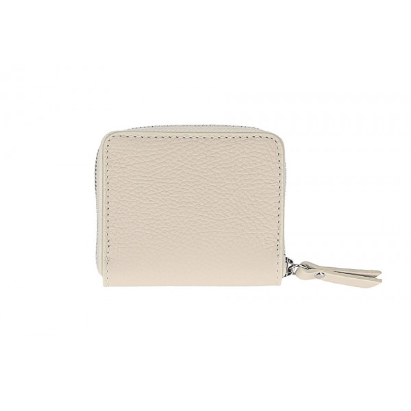 Dámska kožená peňaženka 571 béžová Béžová