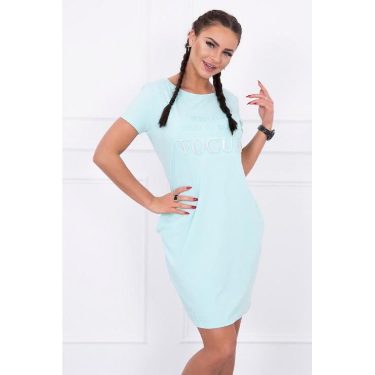 Dress with pockets VOGUE MI8833 mint