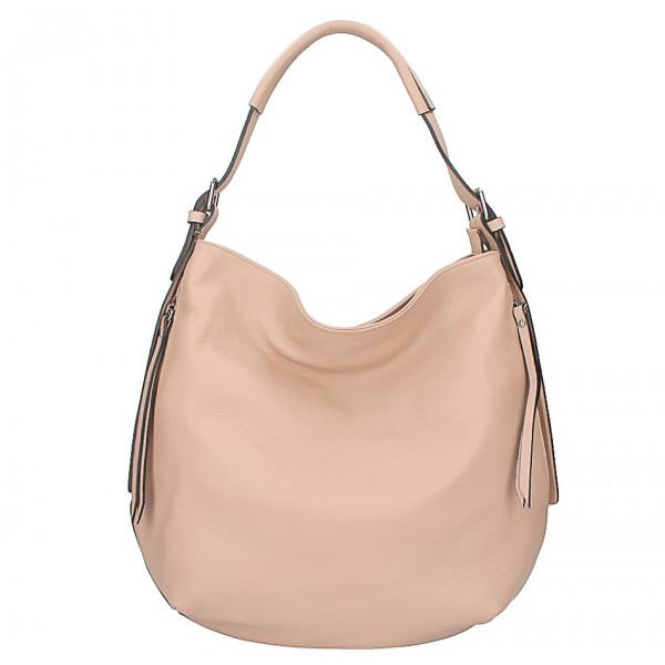 e70f63a115 Kožená kabelka na rameno 5326 ružová - MONDO ITALIA s.r.o.