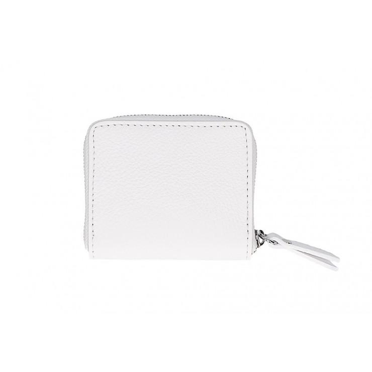 Dámska kožená peňaženka 571 biela