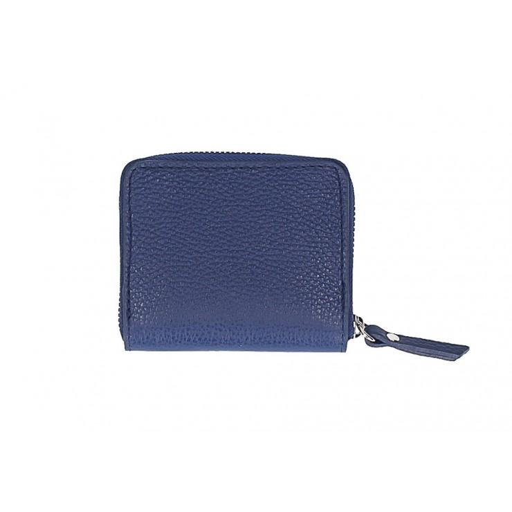 Dámska kožená peňaženka 571 modrá