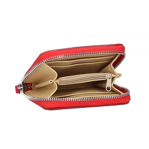 Dámska kožená peňaženka 571 modrá Modrá