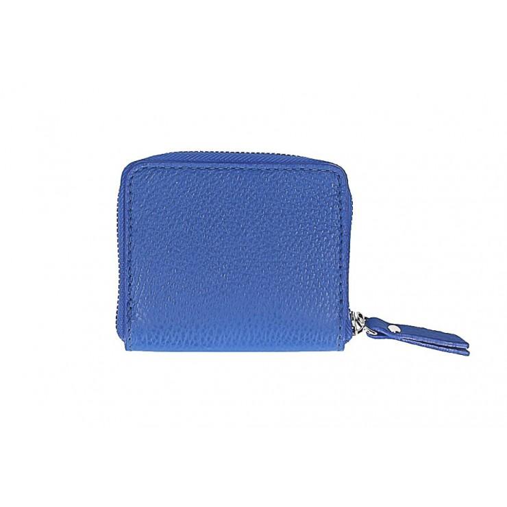 Dámska kožená peňaženka 571 azurovo modrá