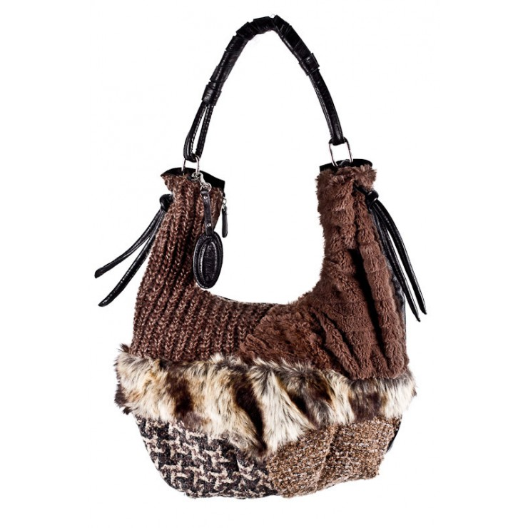 Woman Handbag 425 B.Cavalli brown