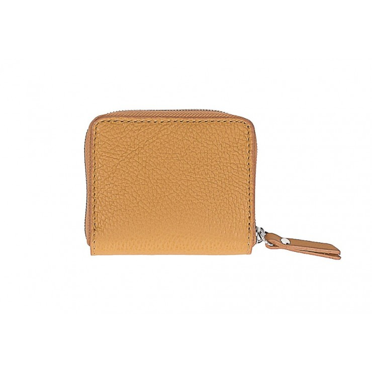 Woman genuine leather wallet 571 cognac