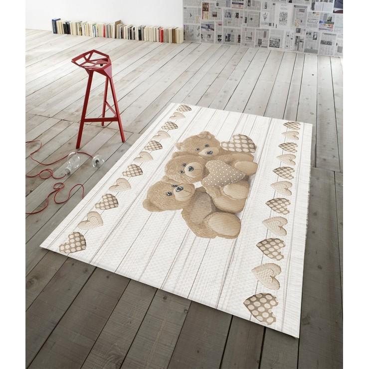 Digital Carpet Teddy bear beige