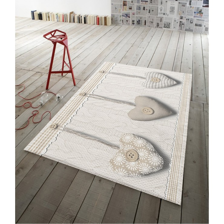 Digital Carpet Hanging beige