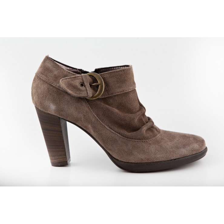 Suede Leather woman shoes 222 Sono Italiana